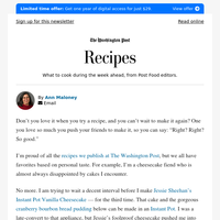 Recipes! Instant Pot cheesecake and bread pudding, birra de res, butternut squash and apple gratin and homemade ricotta
