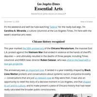 Essential Arts: Marking the Chicano Moratorium route