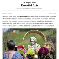 Essential Arts: The Beethoven effect and what to hear now