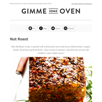 New Post: Nut Roast