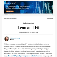 Lean and Fit: Top stories of 2020