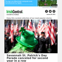 St. Patrick's Day Parade canceled for Savannah, Georgia for second year in a row