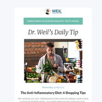 The Anti-Inflammatory Diet: 6 Shopping Tips