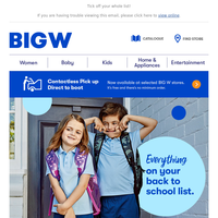 One-Stop Back To School Shop!