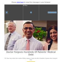 Feel Good Friday: Doctor Forgives Hundreds of Patients' Medical Debt