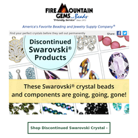 Discontinued Swarovski Crystals are Going Fast