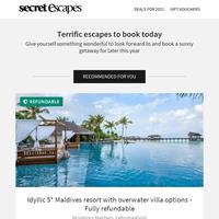 A sublime slice of Maldives heaven in a luxurious villa