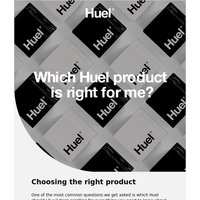 Which Huel product is right for me?
