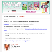 Health and Fitness for Saturday January 9, 2021