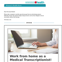 Work From Home as a Medical Transcriptionist