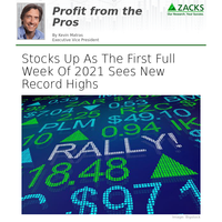 Stocks Up As The First Full Week Of 2021 Sees New Record Highs