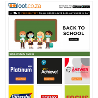 Back To School - Save on Educational Essentials from Study Guides & Stationery Supplies to Calculators & Dictionaries!