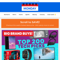 🏆 Tech, Skechers, Back to School & more of our BEST!
