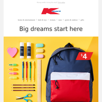 Get back to school sorted for less.