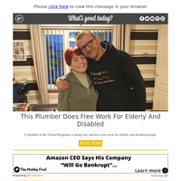 Feel Good Friday: Plumber Does Free Work for Elderly and Disabled