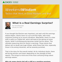 What Is a Real Earnings Surprise?