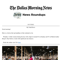 Affluent spots received Dallas County vaccines, how Ted Cruz rebounds: Your weekend roundup