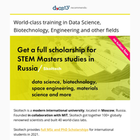 {NAME}, full scholarships available to study in Russia