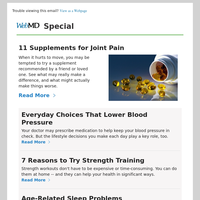 11 Supplements for Joint Pain