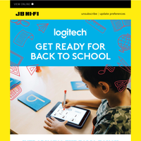 Get Ready For Back To School with Logitech