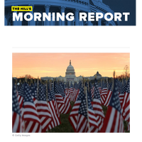 The Hill's Morning Report - 1/ Biden, Harris on brink of inauguration for the history books. 2/ In waning moments of presidency, Trump set to announce wave of pardons, commutations. 3/ Five Biden nominees for key positions face senators' questions