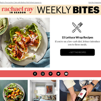 Lettuce Wrap Recipes & More From Rachael Ray In Season
