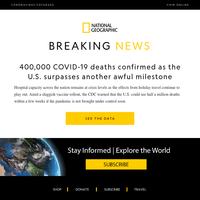 BREAKING NEWS: 400,000 coronavirus deaths in the U.S. How did we get here?