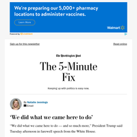 The 5-Minute Fix: 'We did what we came here to do'