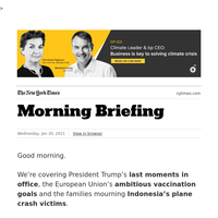 Your Wednesday Briefing