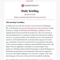 'The world is watching': Biden's militarised inauguration tests America