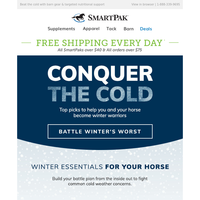 Essential Winter Barn Gear & Supplements