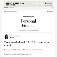 Personal Finance: Tax season kicks off Feb. 12. Here's what to expect.