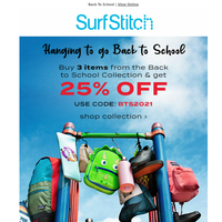 📚 Back To School DEALS! Buy 3 get 25% OFF
