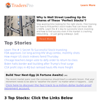 3 Stocks to Consider in the Morning