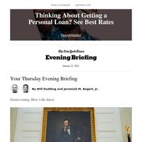 Evening Briefing: President Biden's coronavirus response