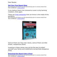(FREE) 5 Top Stocks Set To Rocket From The Coronavirus Outbreak