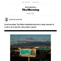 The Morning: A vaccine road trip