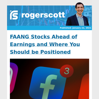FAANG Stocks Ahead of Earnings and Where You Should be Positioned