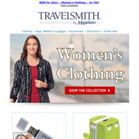 NEW & Comfortable...Stylish, Too ~ Women's Clothing from TravelSmith