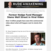 Former Hedge Fund Manager Slams Wall Street in Viral Video