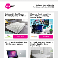 Congratulations! 🎉 You've unlocked 🔓 our top sellers! Mattresses, Macbooks, rattan & more!