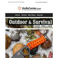 Outdoor/Survival Essentials!