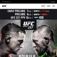 UFC 257. Poirier|McGregor. 10P ET. Enough Said.