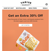 Going, going, gone! Extra 30% off ends soon