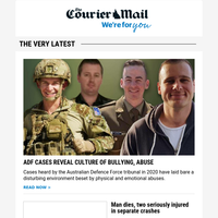 ADF bullying, abuse | Fatal Brisbane crash | High-profile lawyer takes case of other Allison