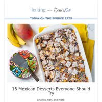 15 Mexican Desserts Everyone Should Try