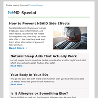 How to Prevent NSAID Side Effects
