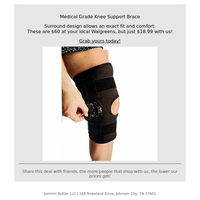 Medical grade knee brace...
