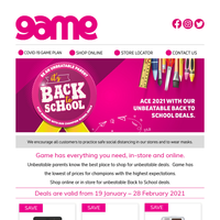 🎓Unbeatable Back to School deals for unbeatable parents.