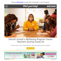 Feel Good Friday: Detroit School Helping Teachers During Covid-19